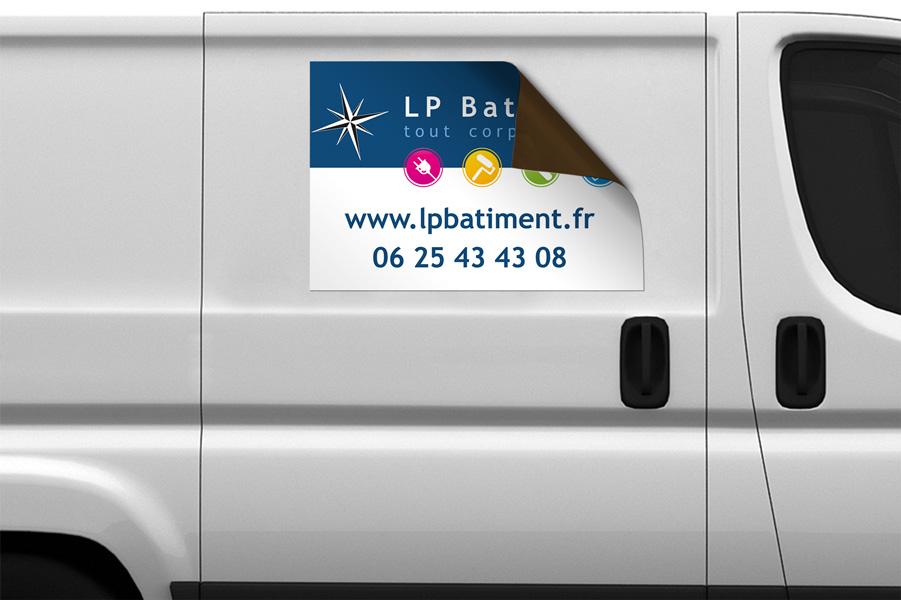 Magnet véhicule LP Batiment