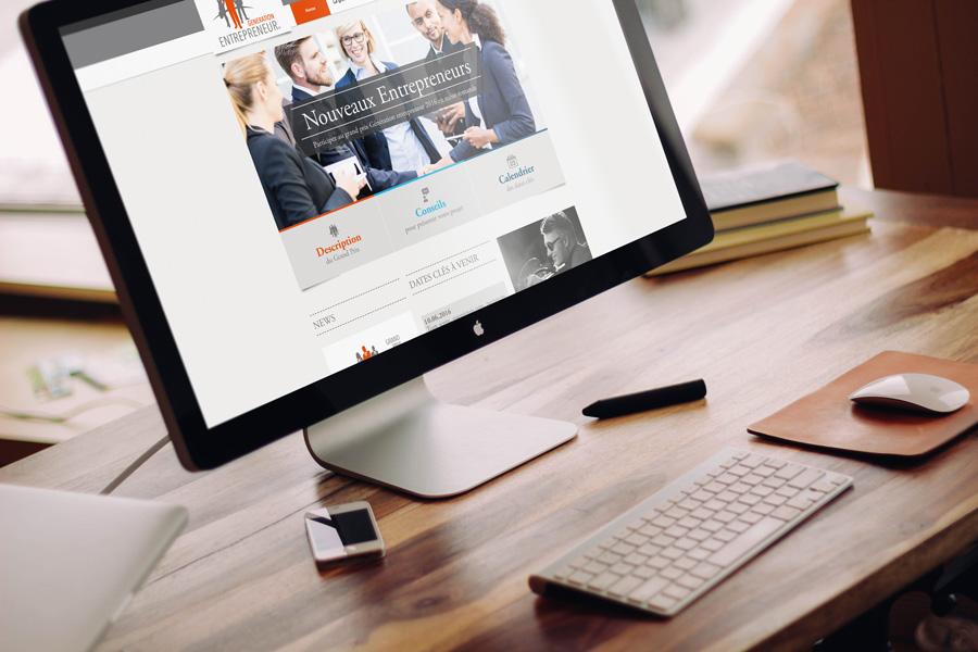 Site Génération Entrepreneurs