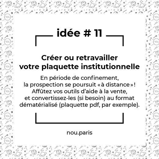 Idée #11 Créer ou retravailler votre plaquette institutionnelle